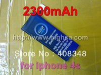 2300mAh high capacity battery use for iphone 4s mobile phone