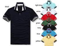 free shipping 2014 men's 100% cotton  Shirts/men's t-shirt