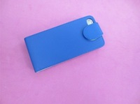 High Quality Flip PU Leather Case Cover Pouch for iphone5,100PCS PER LOT