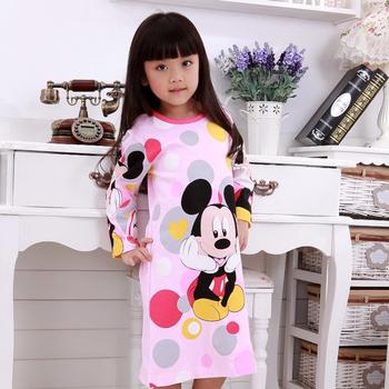 Free Shipping 2012 autumn and winter child nightgown girls sleepwear long-sleeve set cotton lounge family fashion