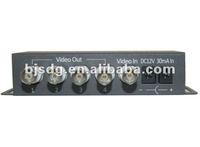 Model:SD-1V4, 4 Channel Passive Video amplifier splitter