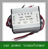 Free shipping DC 24V turn 12V 5A 60W vehicle power supply power buck converter transformer