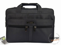 "Waterproof nylon 14"" laptop handbag shoulder bag briefcase for men Free shipping"