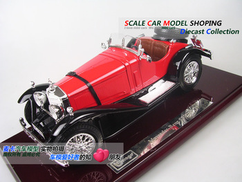 Bburago benz ssk 1947 webworm alloy car model