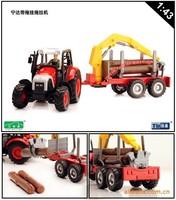 ETAM nida farm tractor toy car model transport truck 4109 - 03