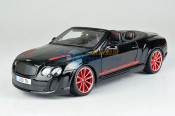 Bburago alloy BENTLEY isr roadster car model black