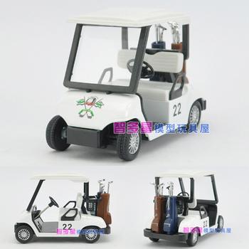Soft world golf ball car WARRIOR alloy car model toy