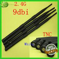 Free Fast Shipping  10Pcs  2.4G 9DBI high-performance antenna TNC  , Factory Price
