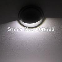 Wholesale! Half Moon White LED Step Light Outdoor Stair Light Set: 30pcs 0.4W Lights & 6pcs Connection Cable & 1pc 30W Driver