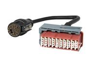 Car diagnostic tool cable Peugeot Citroen PSA lexia3  PP2000 30pin cable