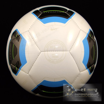 High quality Size5 TPU  soccer ball, football, official size and weight  T90 blue and white