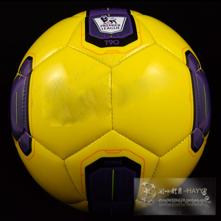 High quality Size5 TPU soccer ball, football, official size and weight yellow(China (Mainland))