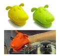 Dog/Doggie Design Pliable Silicone Pot Holder Silicone Glove Oven Mitt