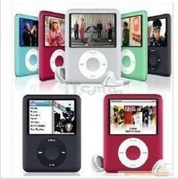 10PCS NEW 6 COLORS 8GB FM VIDEO 3TH GEN MP3 MP4 PLAYER Christmas gift