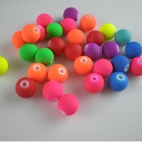 Wholesale 6mm Matte fluorescent color beads,DIY Jewelry Accessories 1200 pcs/lot free shipping