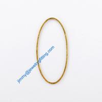 2000PCS Raw Brass Circle 20*40*1*1 copper Rings jewelry findings Conntctors Quoit