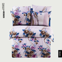 Free Shipping Wholesales Home Textile 100% Cotton 4pcs Bed Set Duvet Cover BC12383