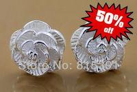 Sale-GY-PE220 Big sale Special Offers 925 silver Fashion jewelry wholesale 925 Silver Earring bhia jypa spya