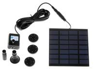 Solar Water Pump Power Panel Kit Fountain Pool Garden Pond Watering free Shipping