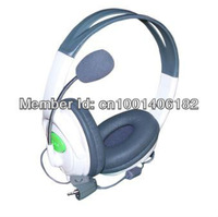 Headset Headphone Microphone for Xbox 360 Xbox360 LIVE(new)     Free Shipping