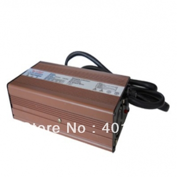 high frequency 54.6V5A 360W 48V lithium battery charger for Ebike Electric bycicle/electric scooter free shipping