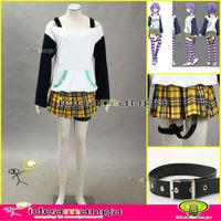 Anime Cosplay Rosario and Vampire Mizore Shirayuki women clothing girl's Cosplay Costume female halloween party& Christmas Party