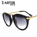 brand prescription glasses sunglasses E . artor arrow sunglasses personality round box black sunglasses trend TM