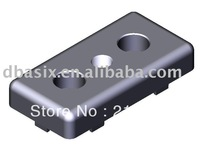 aluminium profile accessories plastic End plate machine elements