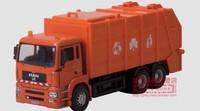 Toy car large garbage truck eco-friendly car alloy jackknifed car model