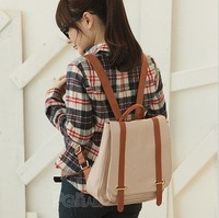 Trendy backpack, fashion school bag, pvc material with good quality, free shipping