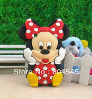 Free shipping wholesale Mickey Silicone Hard Back cover Case For BlackBerry Curve 8520 8530 9300 BB20