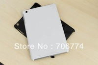 Gloosy Plastic Hard Back Case Cover Pouch for iPad mini Black White 100pcs/lot Free Shipping