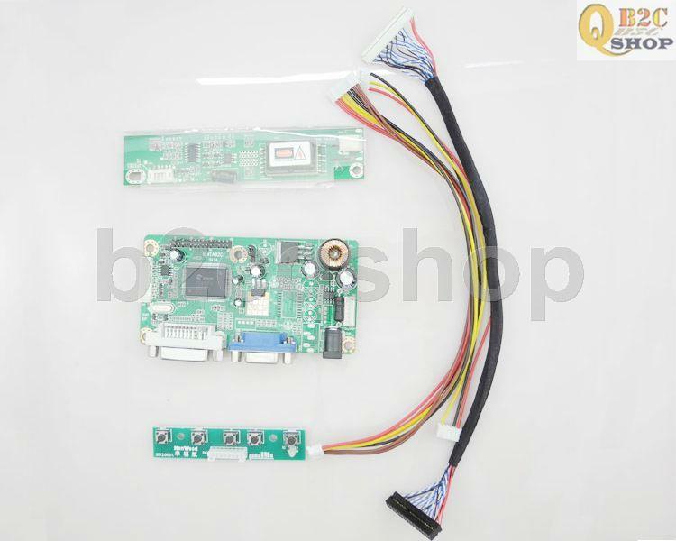 LCD Controller Board DIY Kit NTA92C(VGA+DVI) - Turn LCD Panel to Desktop Monitor(China (Mainland))