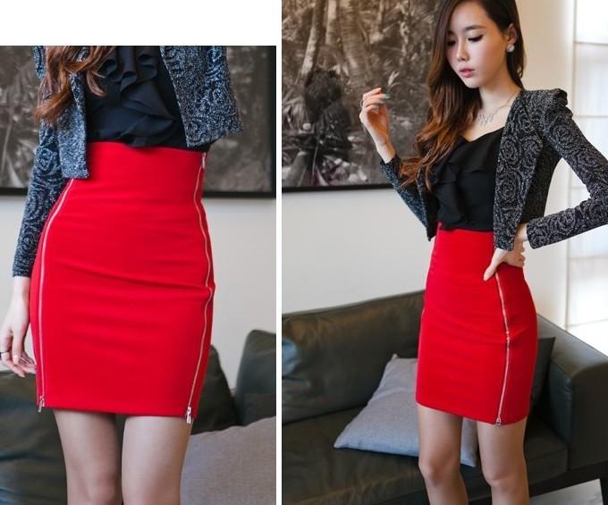 tight high waisted skirts redskirtz
