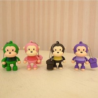 Lovely Monkey USB Flash Drive 1GB 2GB 4GB 8GB 16GB 32GB 64GB Free Shipping