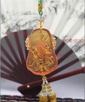 Guan Yu ward off evil Lau Li Hanging Decoration pendants pendants Jhongyi upscale jewelry China Wind