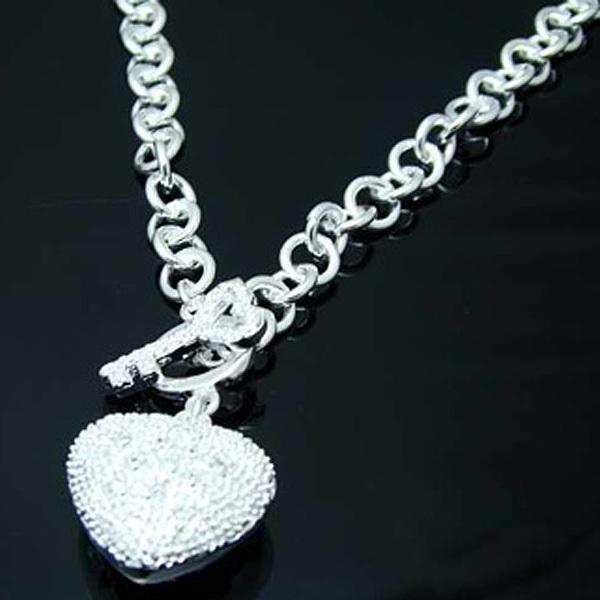 wn138 / 925 серебряные сердца очарование