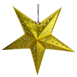 60cm paper five-pointed star christmas decoration hangings christmas tree decoration(China (Mainland))