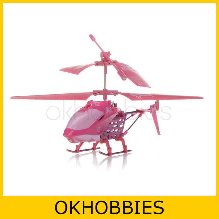 Model King 33008 3.5 Channel Infrared Remote Control Mini Helicopter RC Heli (Pink)(China (Mainland))