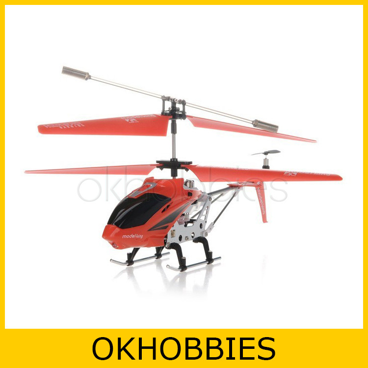 Model King 33008 3.5 Channel Infrared Remote Control Mini Helicopter RC Heli (Red)(China (Mainland))