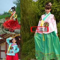 Costume fengliu national clothes traditional fengliu clothes dance costume