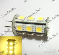 20pcs F44 G4 18-5050SMD LED Bulb White / Warm White AC 12V For Landscape Lighting High Quality