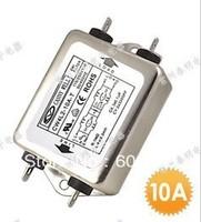 EMI power filter single phase 220V single phase single pole  220V EMI 10A CW4L2-10A-T