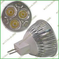 10pcs E73 MR16 3x3W 9W 12V High Power LED Bulb Spot Lamp Down Light Natrue / Warm / Cool White
