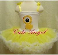 NEW Fashion girls short sleeve cotton tutu dress girl flower dance dress kids one-piece tutu dresses 5pcs/lot free shipping