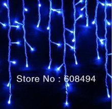 cheap blue led icicle christmas lights
