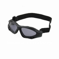 New TOP NEW SUNGLASSES GOGGLES WITH ADJUSTABLE STRAP LEASH black color  free shipping