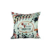 FREE SHIPPING cushion cover 45*45cm -- Churchills Club