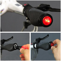 WHOLESALE! 5Pairs/Lot New HANDLEBAR Road Bar End Light - road bike use FREE SHIPPING(China (Mainland))