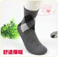 20pcs=10pairs/lot men winter socks, men warm wool socks, socks winter, free shipping, AEP14-M1219